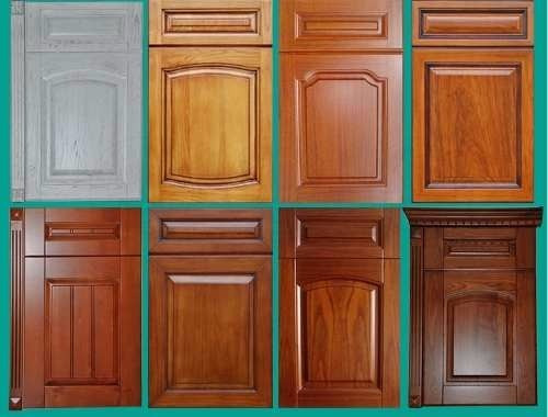 puertas de madera para gabinetes de cocinas o closet bs