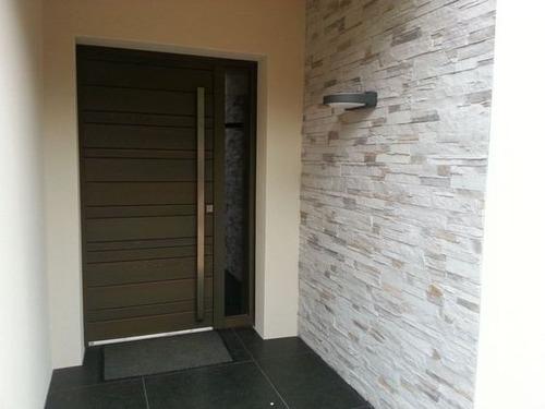 puertas de madera solida de seyke, blindadas.