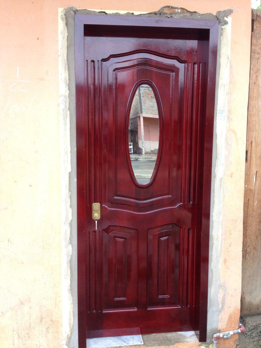 Puertas de madera teca y amarillo y laurel d buena calidad for Puertas de madera