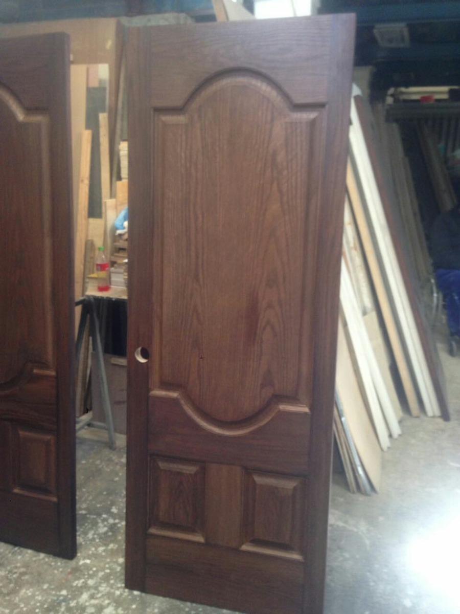 Puertas de madera varios modelos 2 en mercado libre for Modelos de puerta de madera para casa