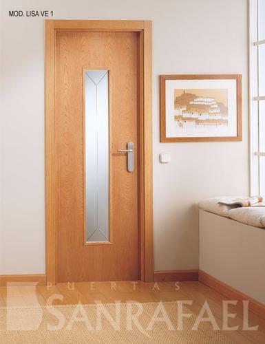 Puertas de madera y contraplacada con instalacion s 220 - Instalacion de puertas de madera ...
