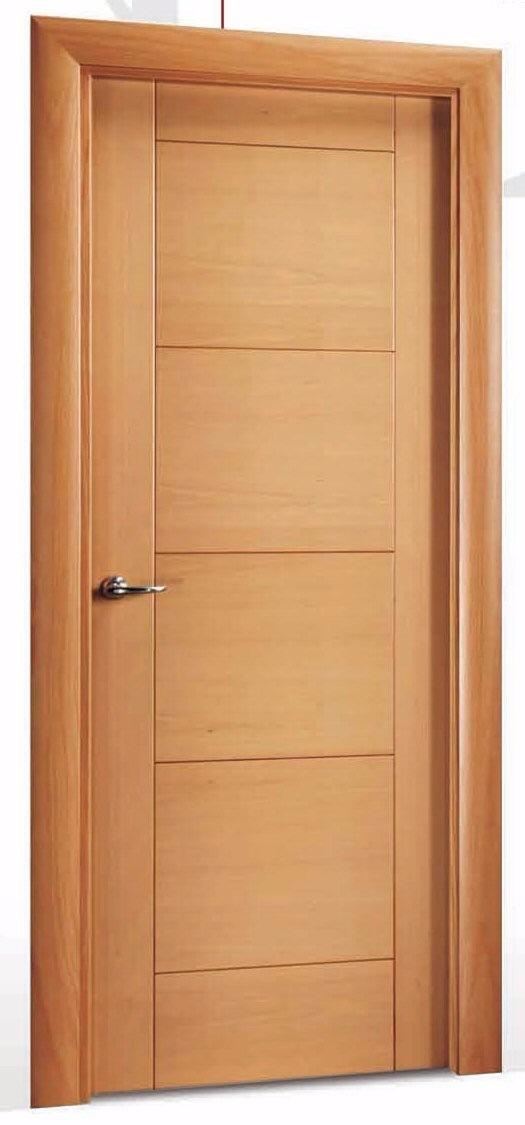 Puertas de madera y para dormitorio con instalacion s for Puertas de corredera para dormitorio