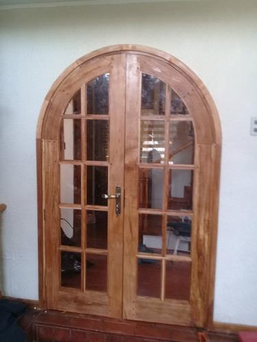 puertas de maderas nativas a encargo