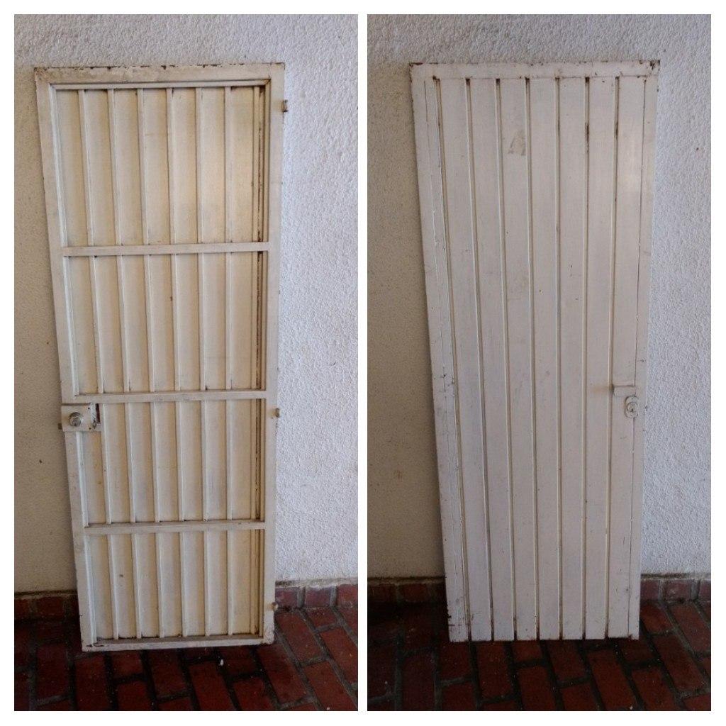 Puertas de metal para casa puerta de entrada cuarto - Puertas de metal ...