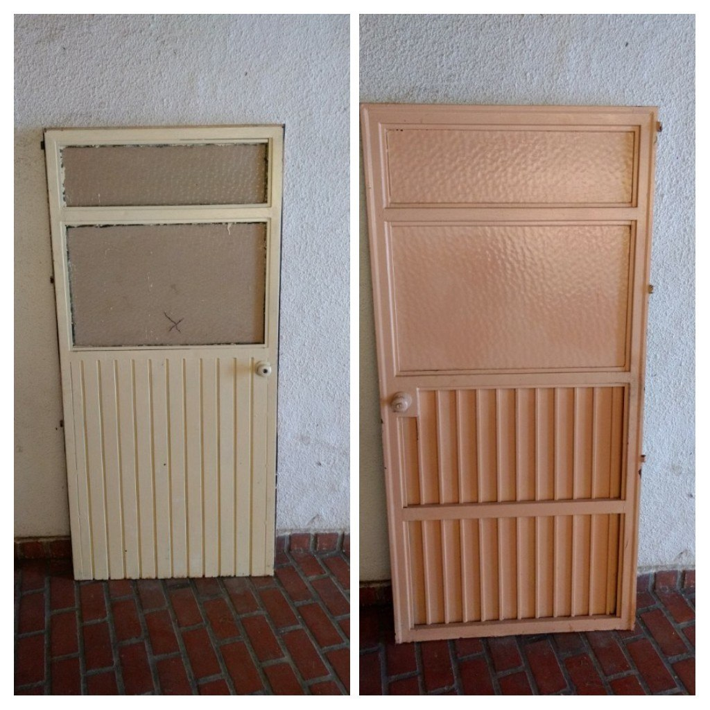 Puertas de entrada de casa cmo pintar las puertas de casa for Modelos de puertas de metal para casas
