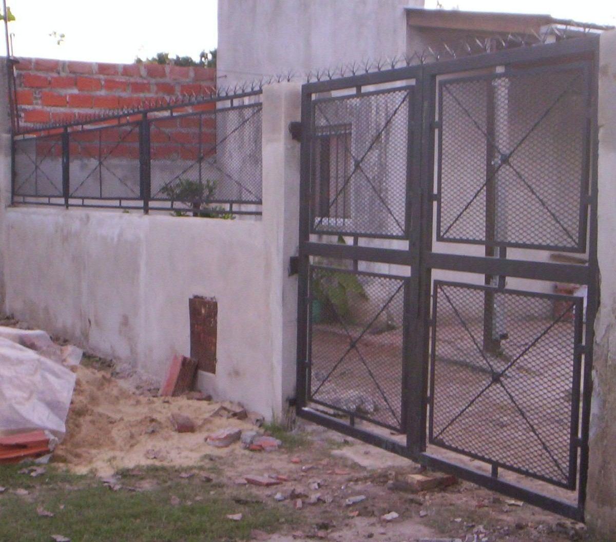 Puertas de rejas y mallas en mercado libre - Puertas de reja ...