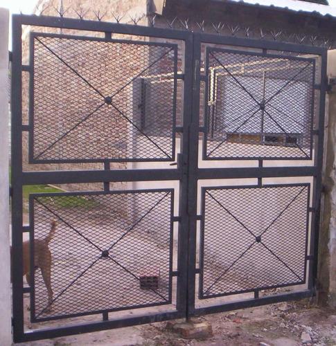 puertas de rejas y mallas