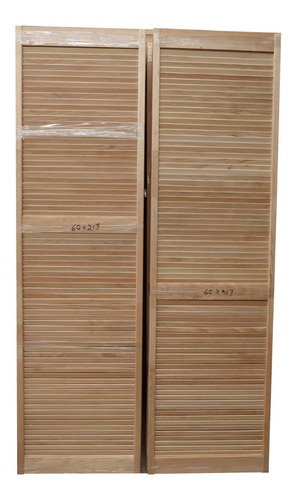 puertas de rejilla de madera de pino