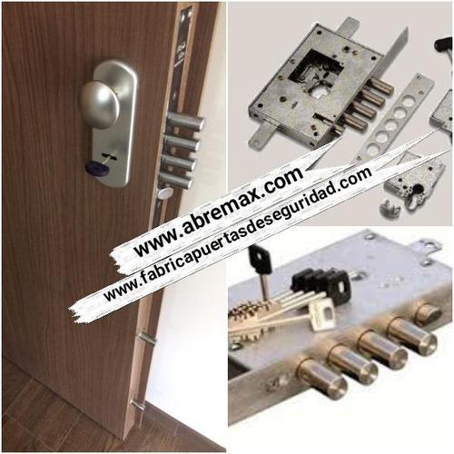 puertas de seguridad con cerradura italiana