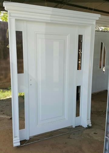 puertas de seguridad en hierro