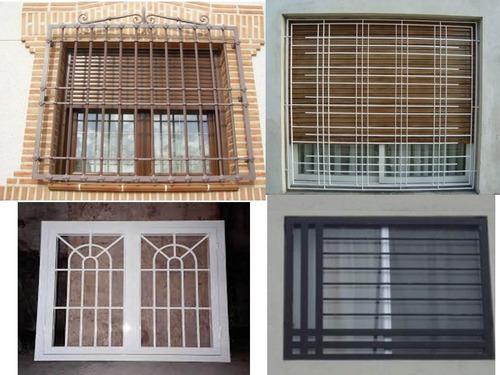 puertas de seguridad, rejas y ventanas