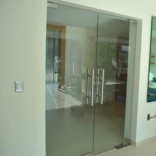 puertas de vidrio templado para exterior en