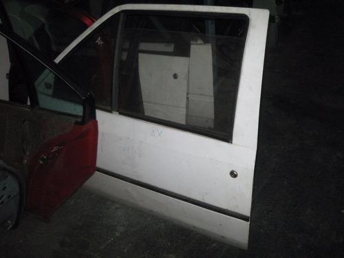 puertas delanteras citroen ax 2p- 6000$ peladas c/u