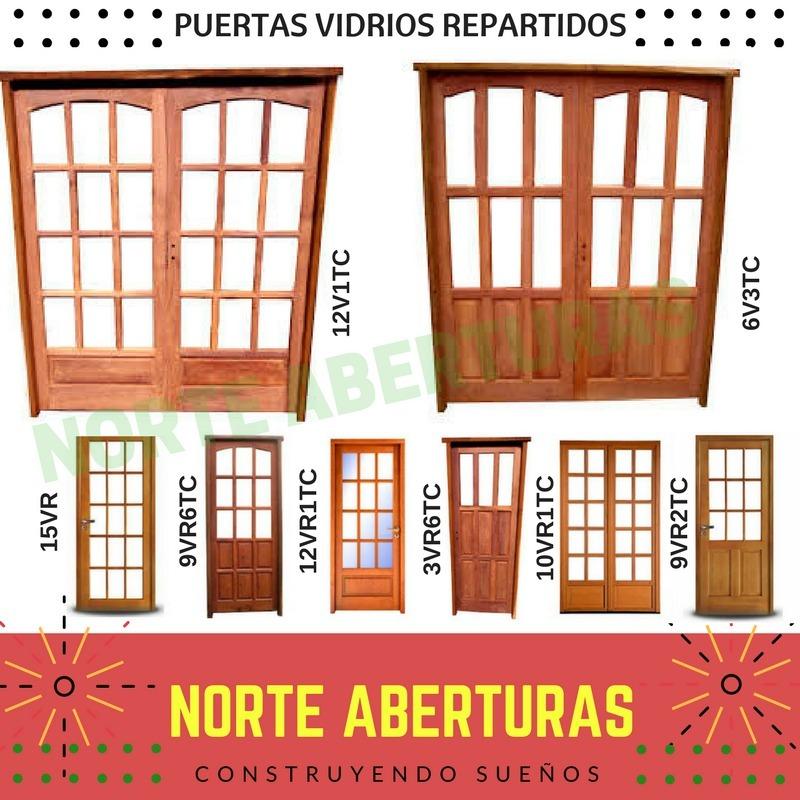 Puertas Doble Vidrios Madera De Seguridad Fabricante - $ 3.500,00 en ...