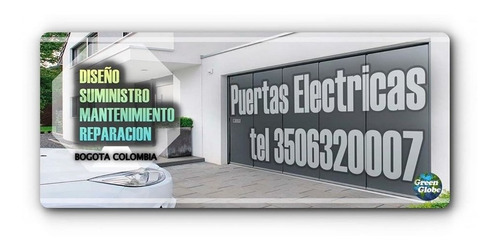 puertas eléctricas de diseño con panel solar