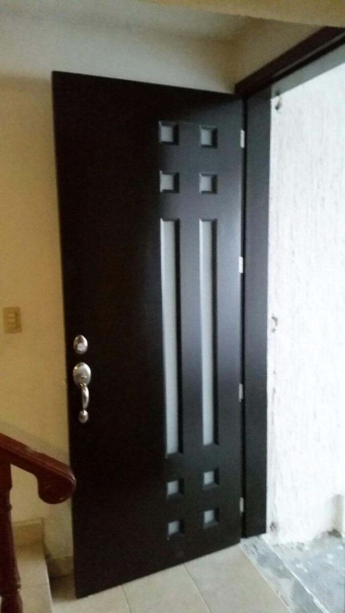 Puertas en madera 3 en mercado libre for Puertas madera vidrio para interior