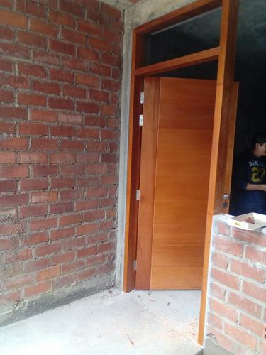puertas en madera cedro a un súper precio