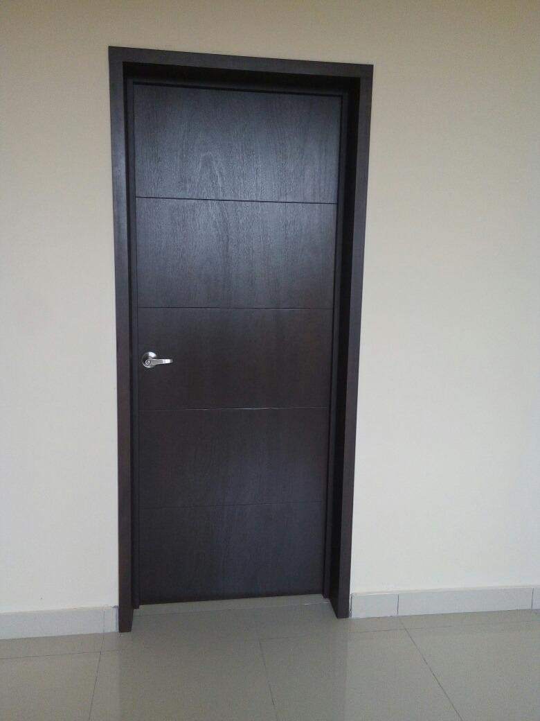 puertas en madera de interior y de ingreso instalacion gdl On puertas de ingreso de madera