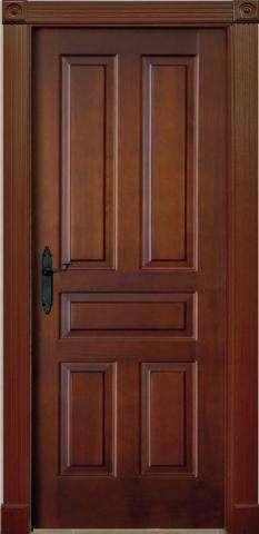 puertas en madera solida