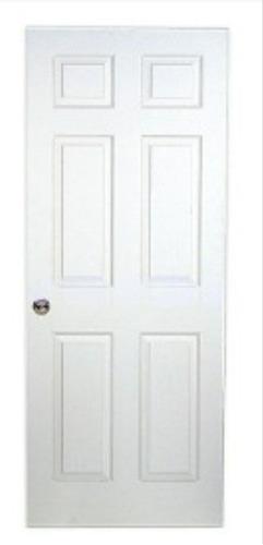 puertas entamboradas blancas de madera nueva 0,80 x 2.10