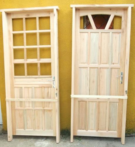 puertas exterior de madera nuevas modernas