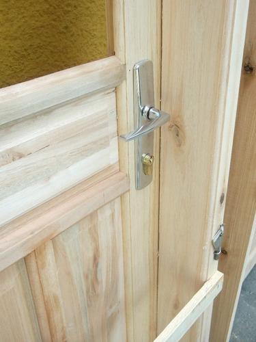 puertas exterior madera