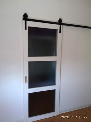 puertas granero o corredizas. elaboradas a medida