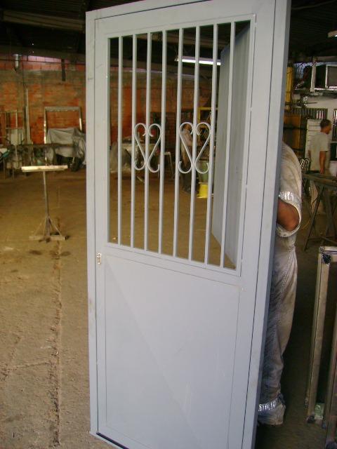Puertas hierro metalicas entamborada marcos p bloque for Puerta hierro segunda mano