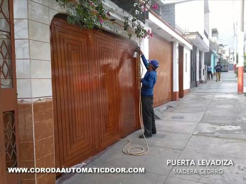puertas levadizas coroda automatic door