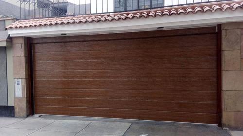 puertas levadizas, corredizas, seccionales en lima