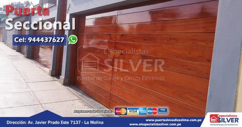 puertas levadizas, seccionales - todo para tu garaje
