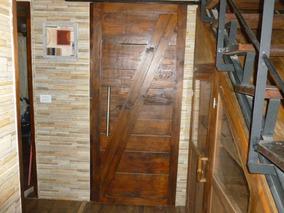 Puertas Madera Bajo Escalera Bano Cocina Paredes Madera