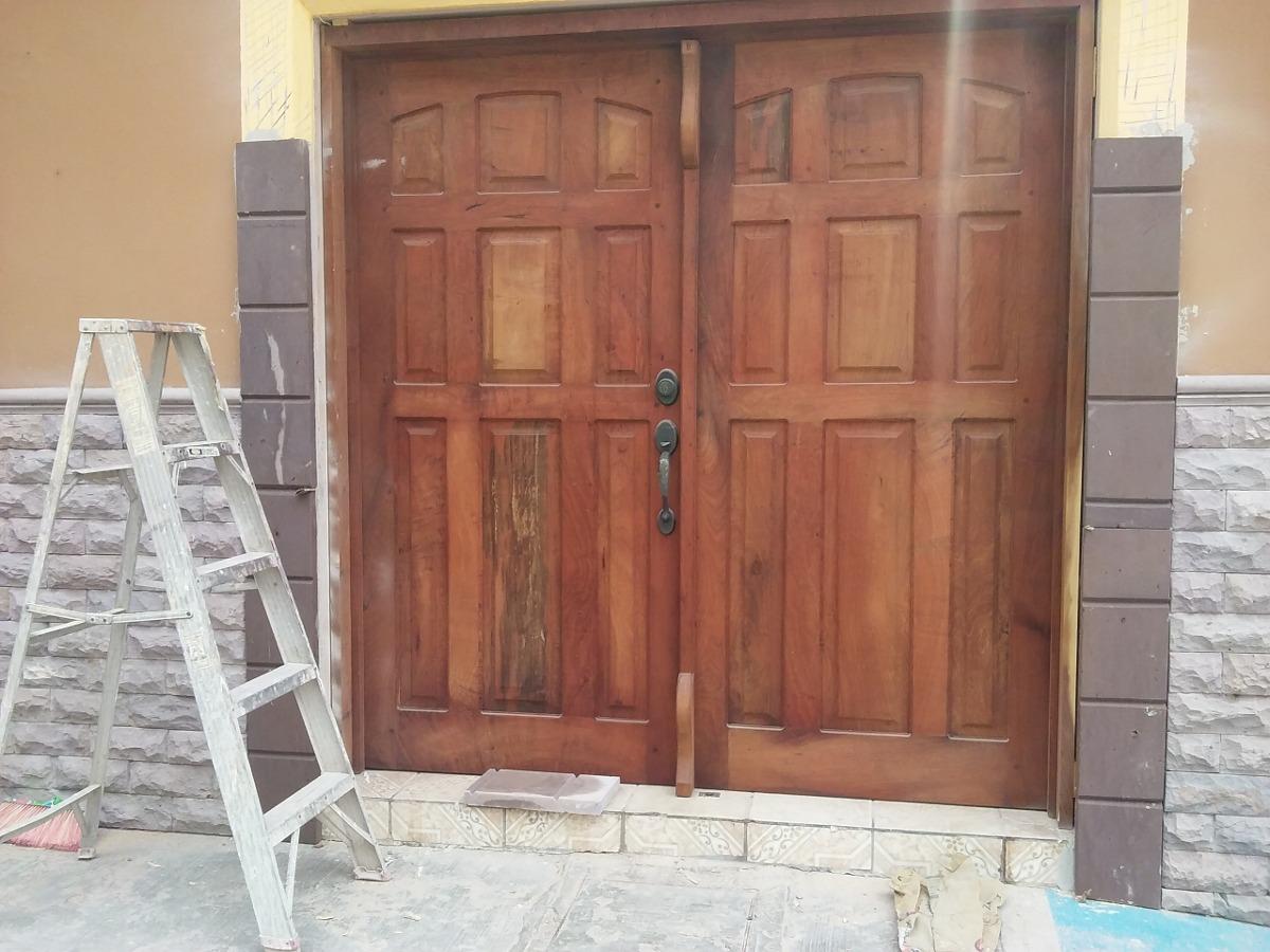 Puertas madera de mezquite 35 en mercado libre for Puertas de madera en oferta