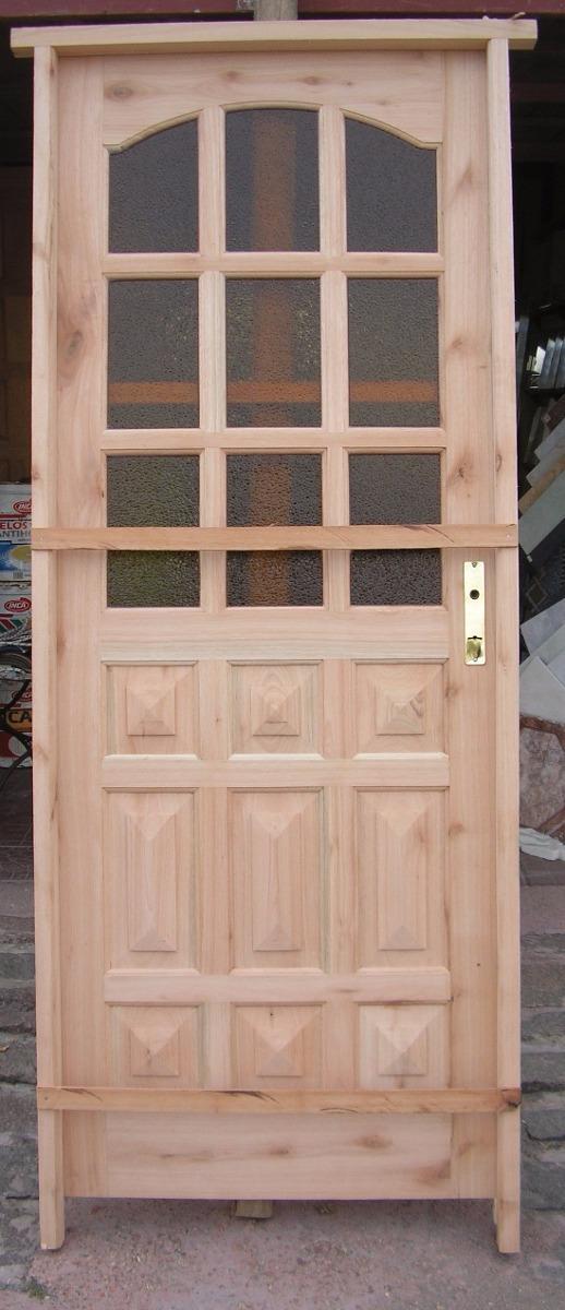 puertas madera exterior cocina o frente en