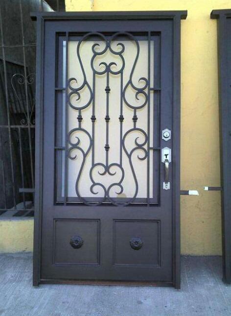 Puertas metalicas u s 300 00 en mercado libre for Puertas corredizas metalicas
