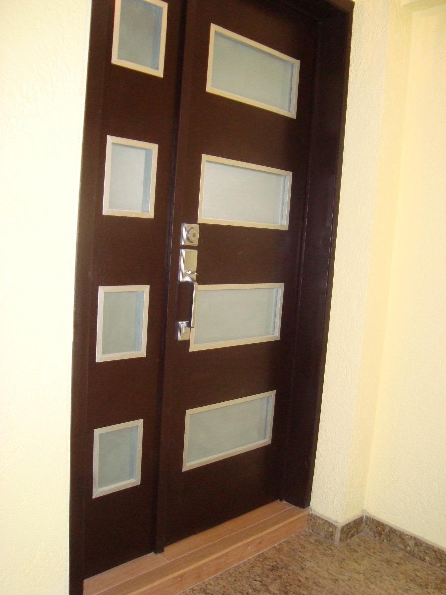 Puertas minimalistas echas a base de madera 100 natural 3 en mercado libre - Marcos de puertas de madera ...