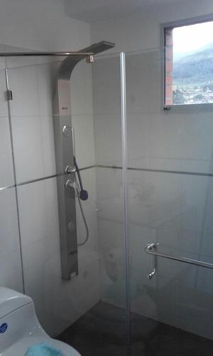 puertas para baño en cristal templado