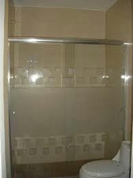 Puertas para ba os en vidrio y - Puerta corrediza para bano ...