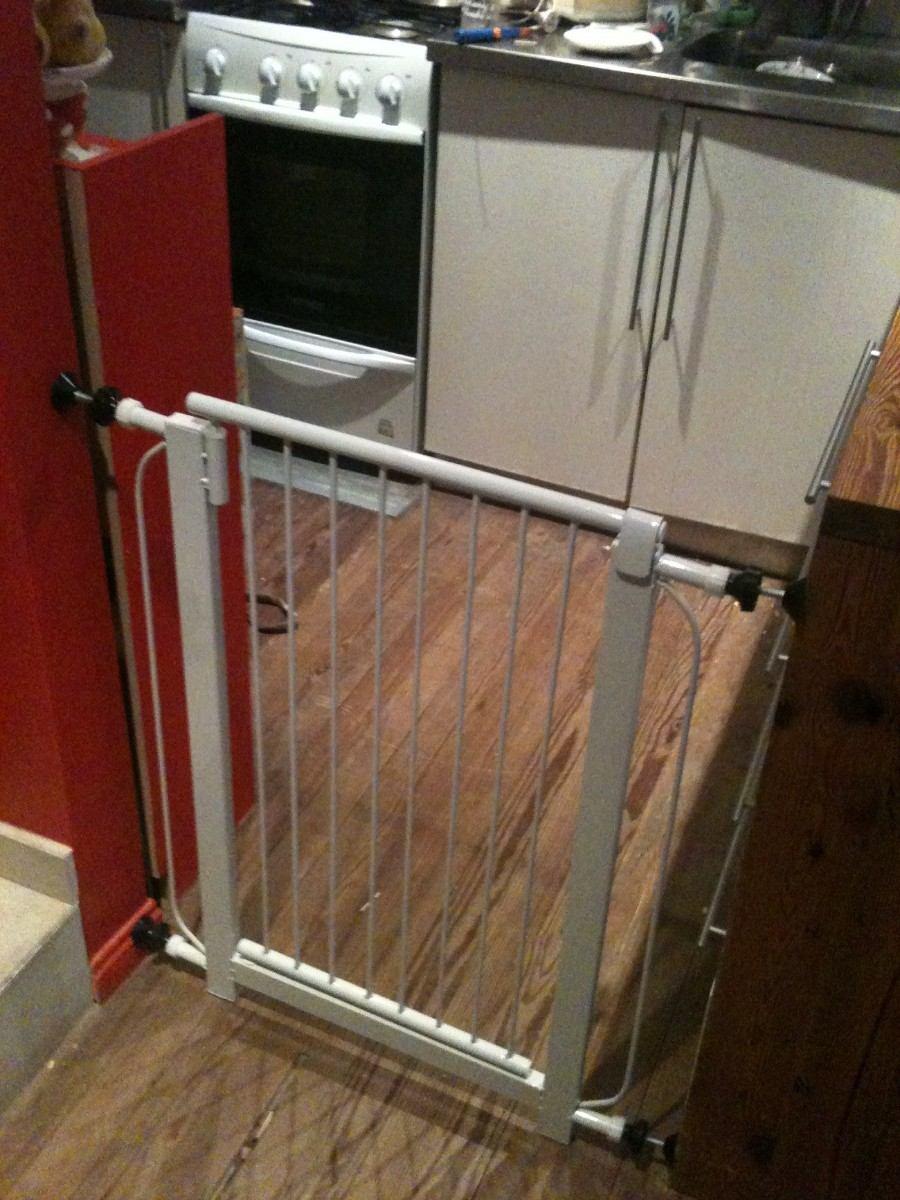 9c691b25abfa0 puertas para escaleras proteccion seguridad puerta barrera. Cargando zoom.