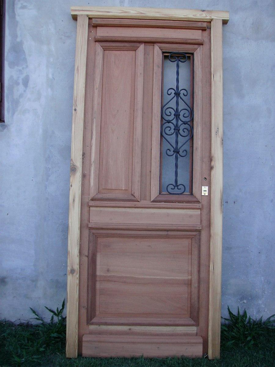 Portones rusticos de madera simple portones rsticos de - Herrajes rusticos para puertas ...