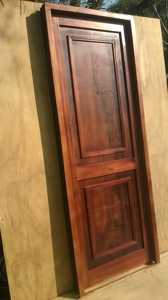 Puertas Para Interiores Madera - $ 4.300,00 en Mercado Libre