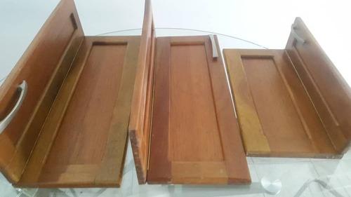 puertas para la cocina en madera (cedro) con accesorios/320v