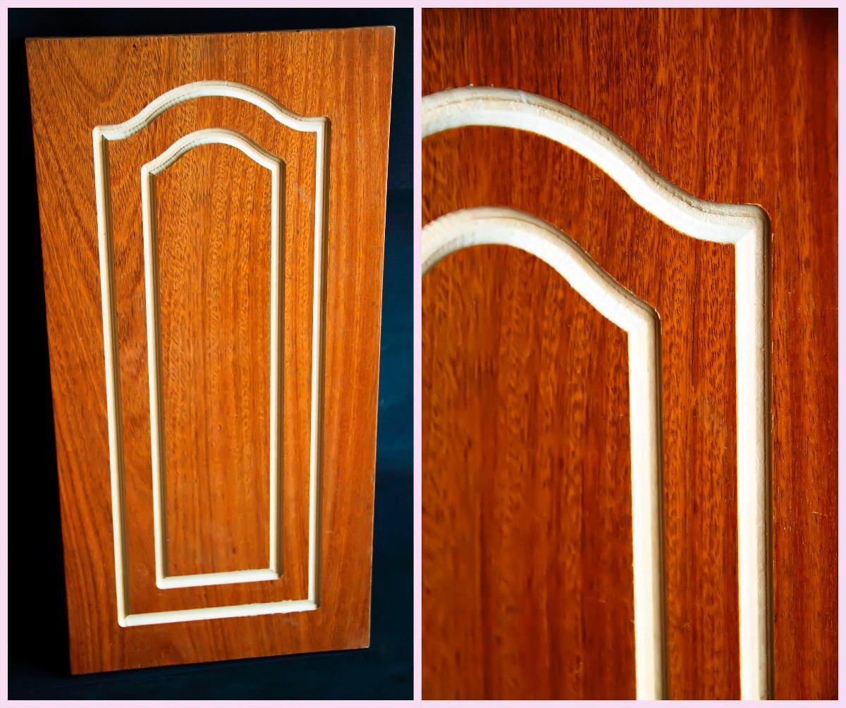 Puertas para cocina vista de la puerta corredera desde el for Fabricacion de muebles mdf