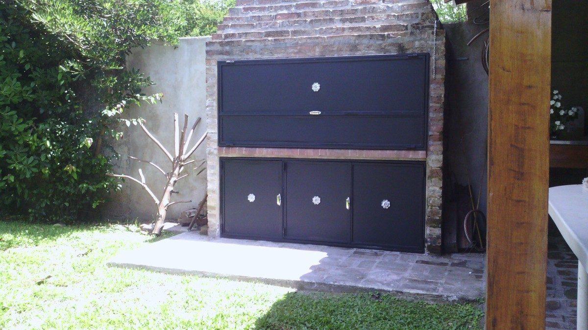 Puertas Para Parrilla Con Mesada De Acero Inoxidable. - $ 4.000,00 ...