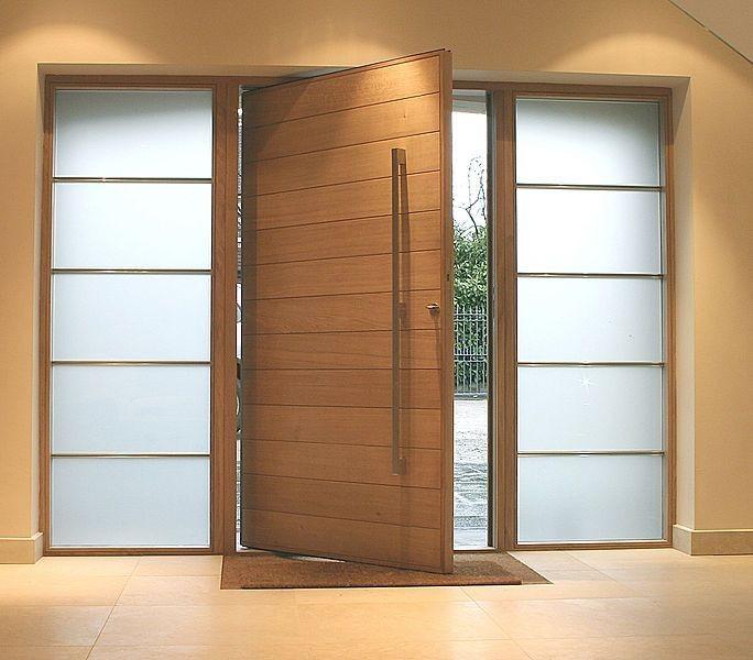 puertas pivotantes sin visagras blindadas y de madera bs
