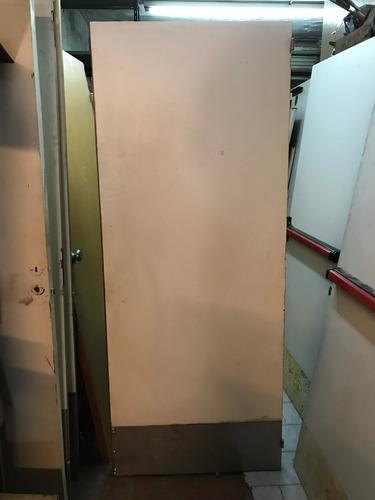 puertas placa antipanico con sistema push oportunidad 12cuot