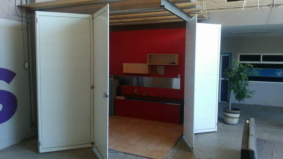 Puertas plegables de aluminio blanco 18 en - Puertas plegables aluminio ...