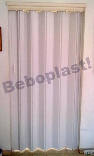 puertas plegables en pvc importadas 0,80 x 2,10 oferta!!