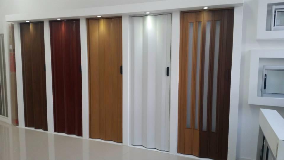 Puertas plegables en pvc no chinas excelente precio - Precio puertas plegables ...