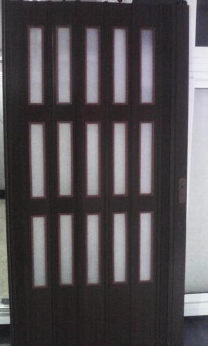 puertas plegables nuevas  12mm  pre armada a medida